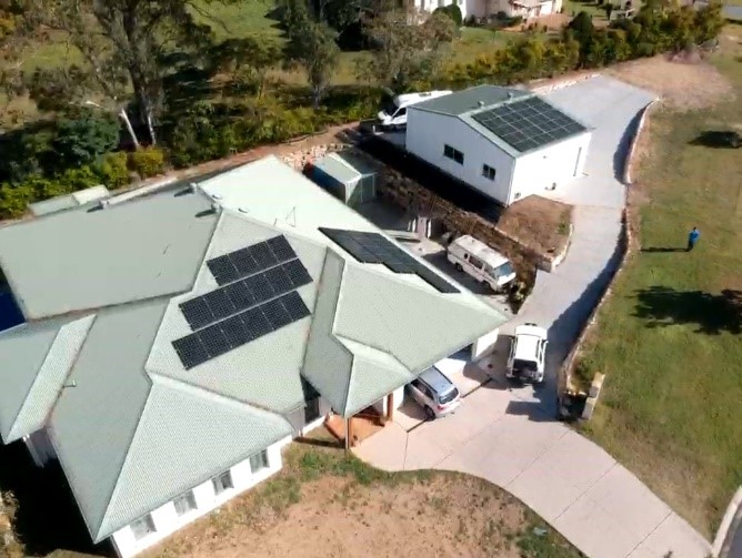 Solar Mine Queensland - Customer Solutions - Alan & Vicki - Solar Panels