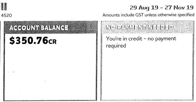 SolarMineQld - Alan & Vicki - Origin Energy Bill Credit