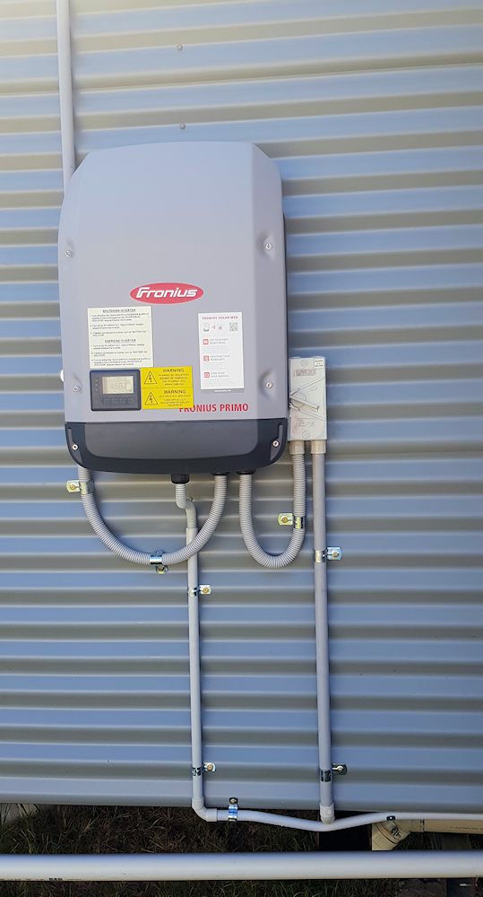 Solar Mine Queensland - Customer Solutions - Case Study 1 - Inverter 1
