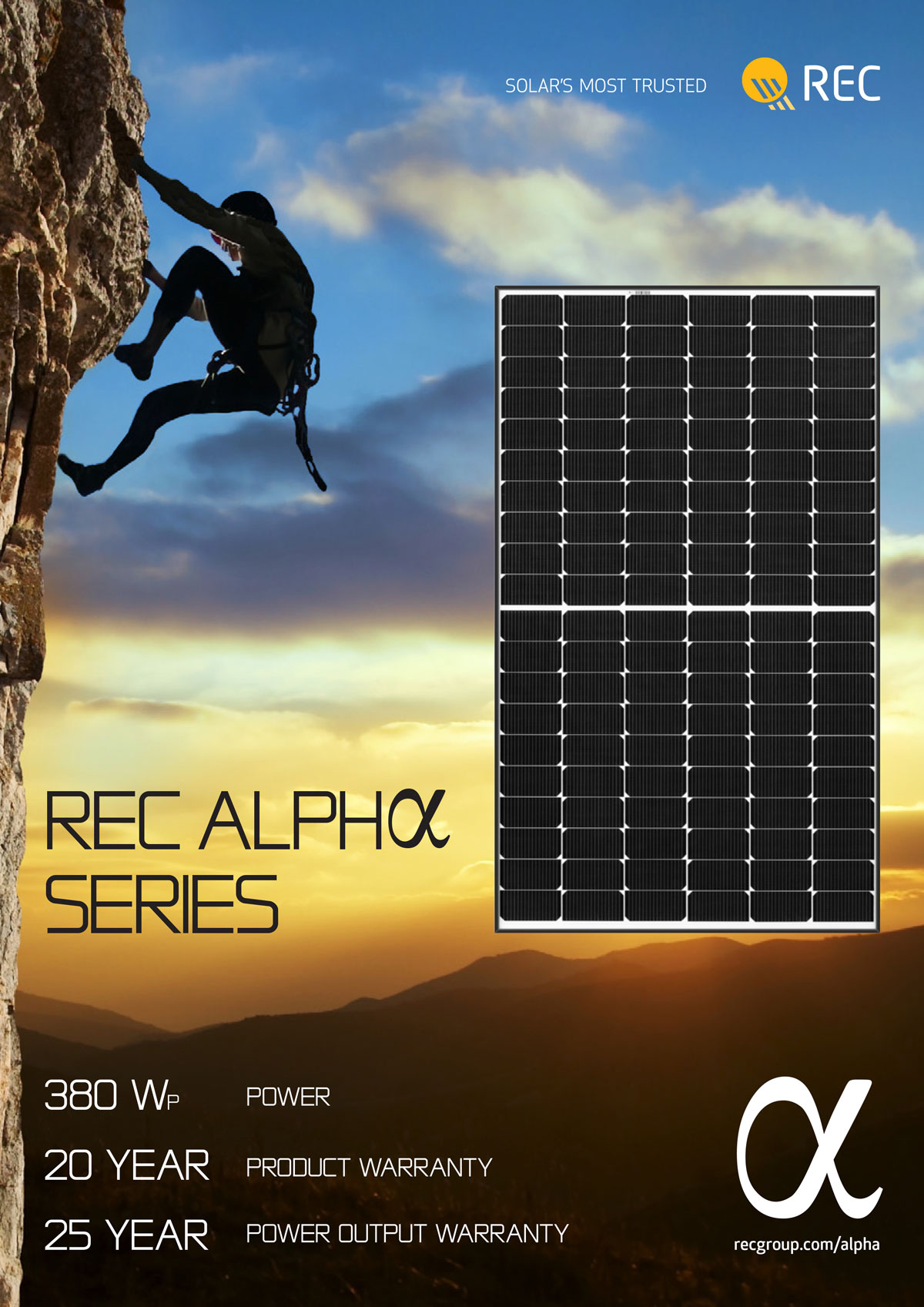 Solar Mine QLD - REC Panels - Alpha Series